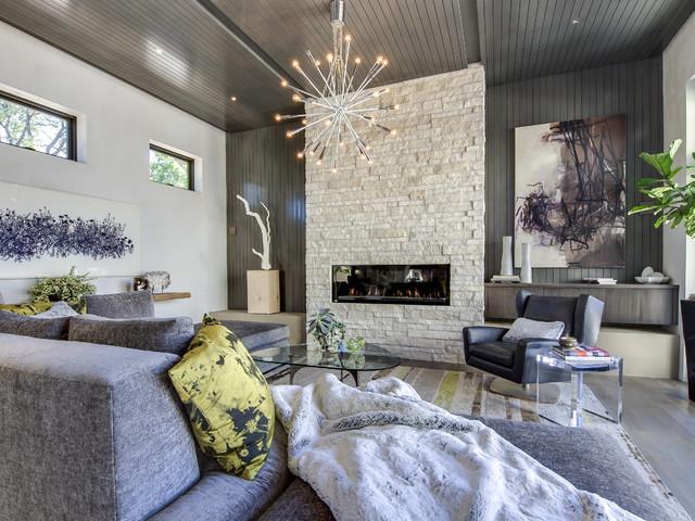 Denver Design Showhome Contemporary Living Room