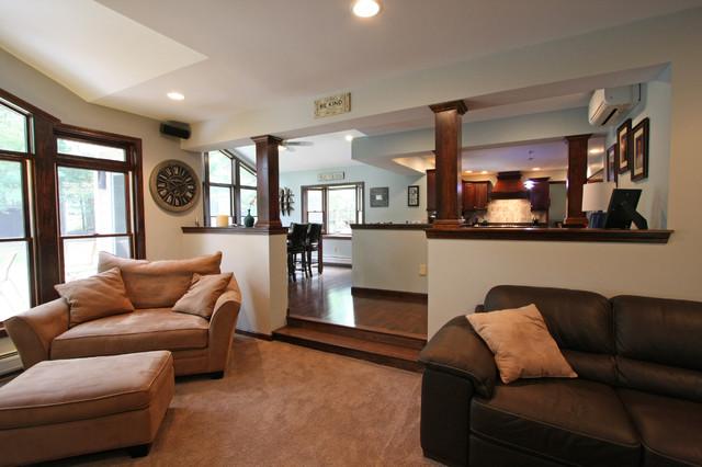Desaulnier Residence traditional-living-room