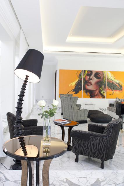 Desert Dream contemporary-living-room