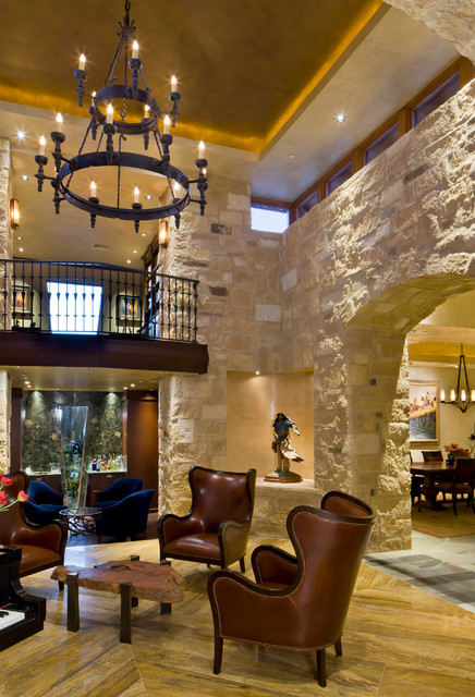 Desert Mountain Scottsdale Az Traditional Living Room