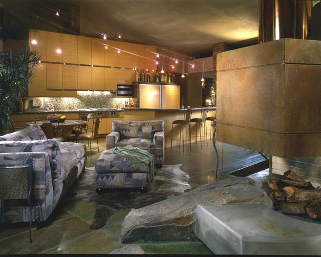 Desert mediterranean-living-room