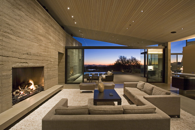 Desert Wing interior contemporary-living-room
