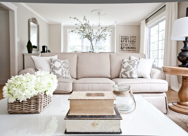 Design Lux Decor - St. Lazare - Traditional - Living Room - Montreal ...