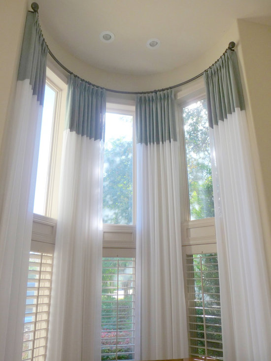 Curtain Rods For Bay Windows Casual Cottage