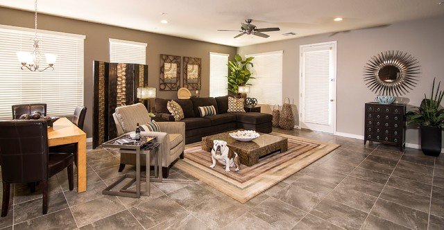 Designed by betsy burgan contemporary living room for Floor decor phoenix az