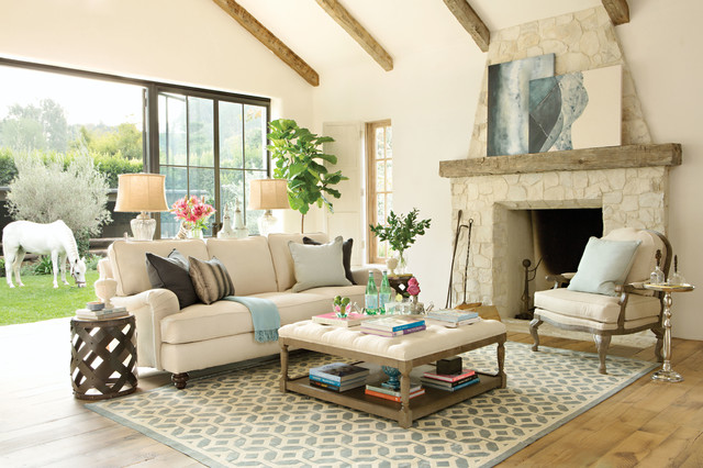 Designed By Jeff Lewis   Spring 2015 Catalog Traditional Living Room