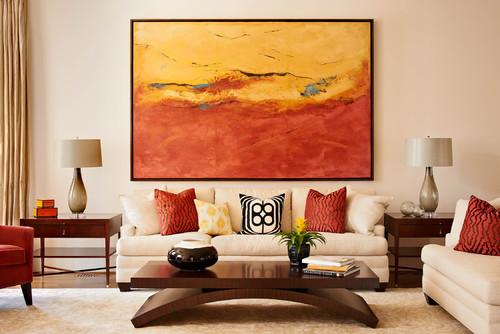 καναπές, σαλόνι, τραπεζάκι σαλονιού, σαλόνι διακόσμηση, πορτοκαλί