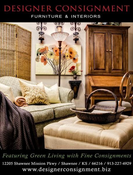 Designer Consignment Furniture And Interiors ~ Designer consignment vignettes traditional living room