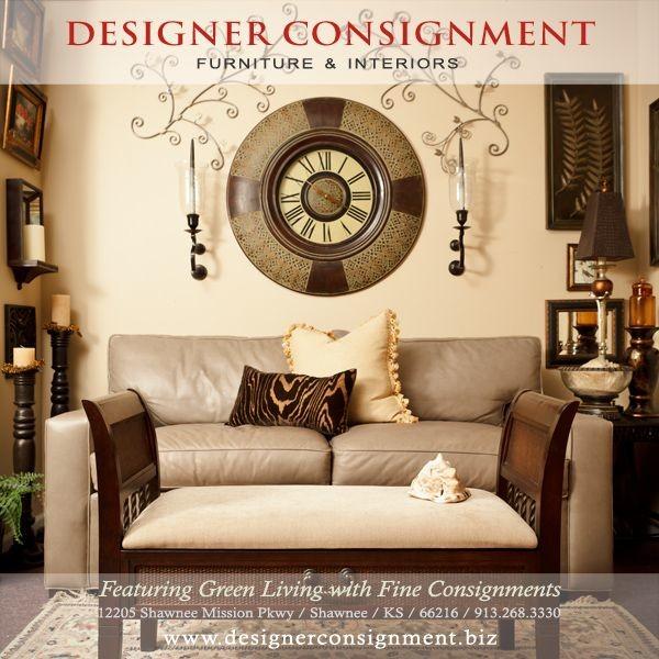 Designer Consignment Vignettes, Designer Consignment Furniture