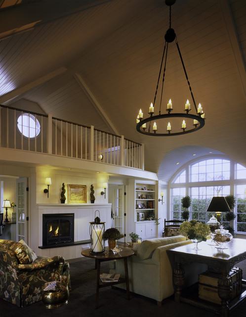 Designer Cottage Country Living Room Burlington By Truexcullins Architecture Interior