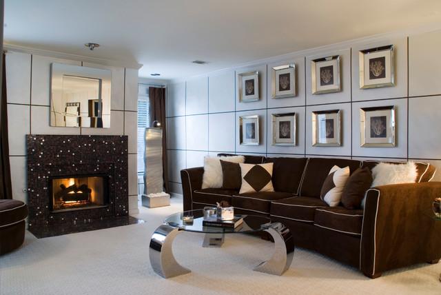 Designer Homes modern-living-room