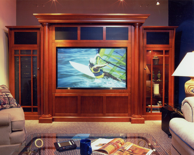 Designs unlimited custom wall units traditional living room