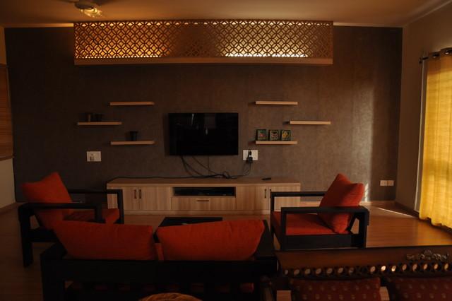 Destination Designs eclectic-living-room