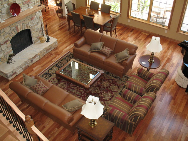 Detroit Lakes Residence traditional-living-room