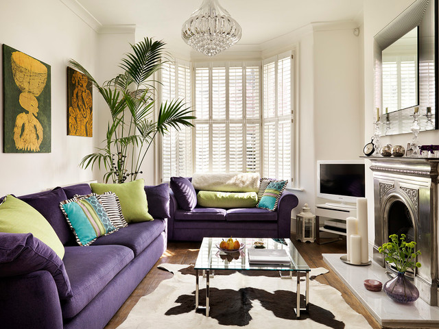Diana S Modern Living Room Victorian Living Room London By My Bespoke Room Houzz Au