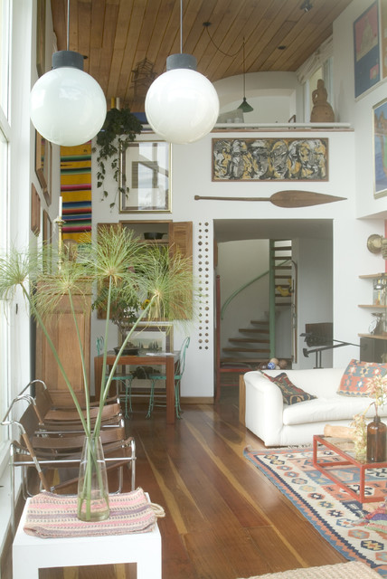 Diego Perez eclectic-living-room