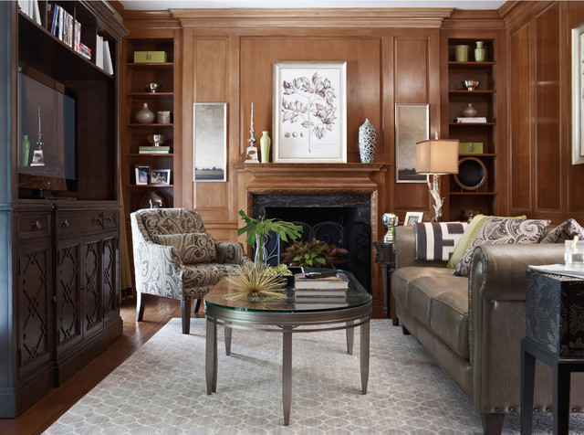 Lamp traditional living room chicago by littman bros lighting