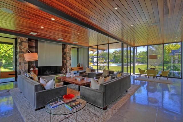 Dinah Shore Palm Springs Modern Living Room