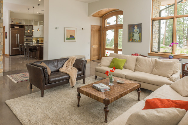 Dineen Residence contemporary-living-room