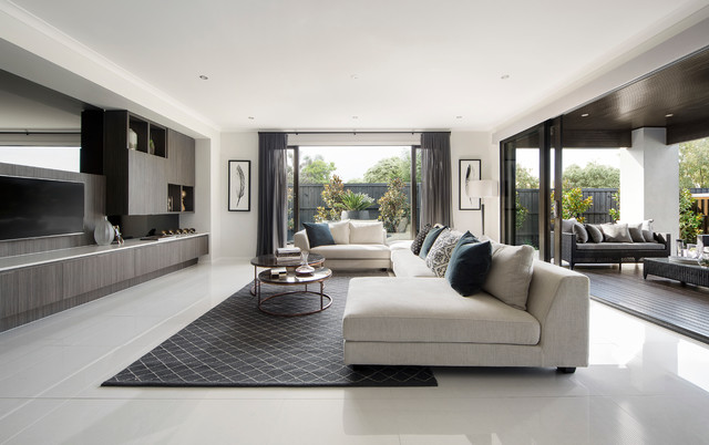 Display Home: Sovereign 50 contemporary-living-room