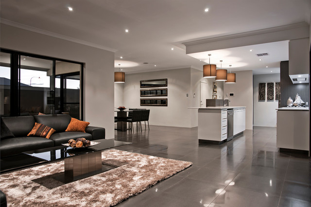 Display Home: The Providence - Contemporary - Living Room - Perth ...