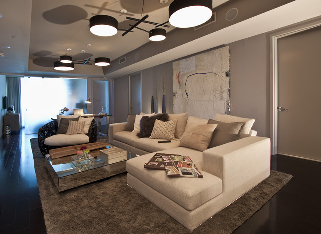 Living Room Miami Interior Design Photographer
