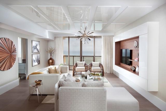 Attirant Inspiration For A Modern Living Room Remodel In Miami