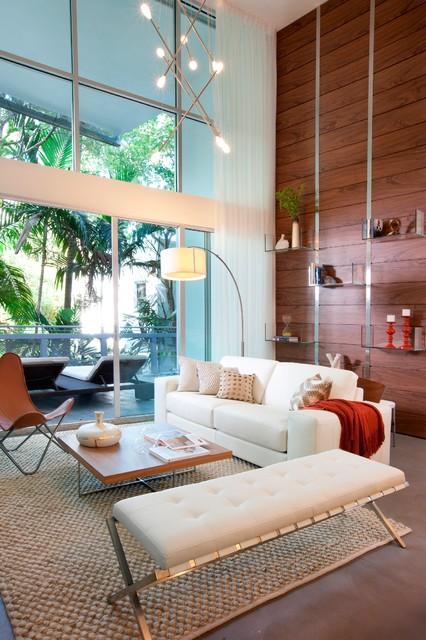 miami modern south beach chic modern living room miami