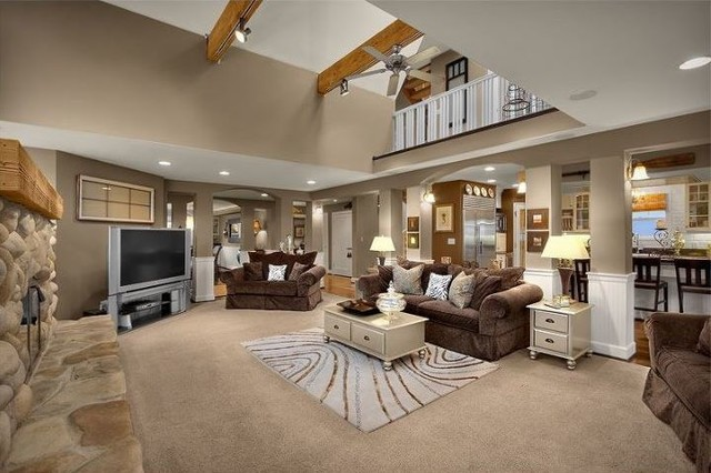 Dkwozniak custom home in downtown kirkland wa living for Kirkland living room ideas