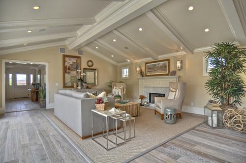 Traditional Living Room by Newport Beach Interior Designers & Decorators Details a Design Firm