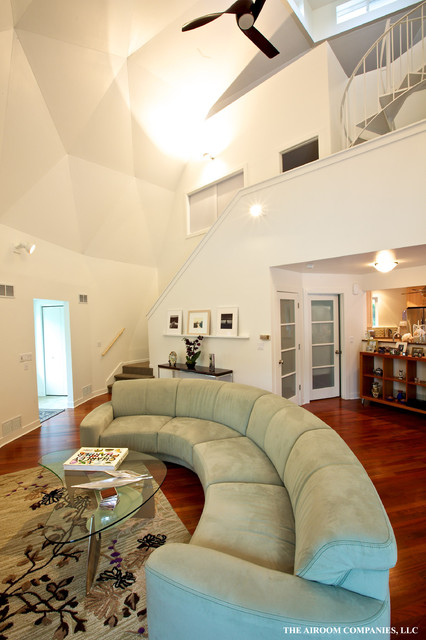 Dome Home Interior - Modern - Living Room - Chicago - by