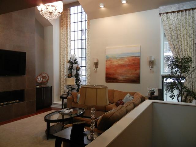 Dondici Condo traditional-living-room