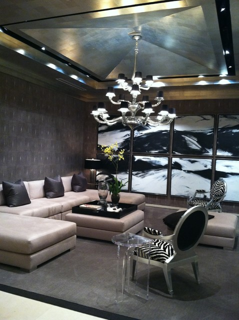 Donghia, Inc. Chicago contemporary-living-room