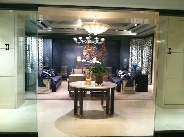 Donghia, Inc. Chicago contemporary-living-room