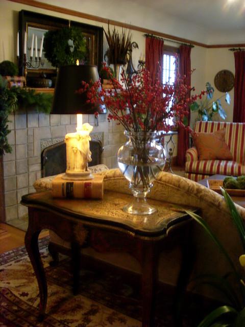 Donna DuFresne Design traditional-living-room