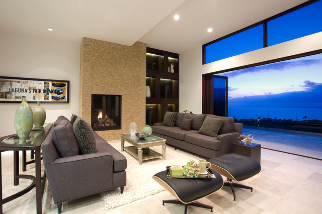 Door Systems Contemporary Living Room San Diego By