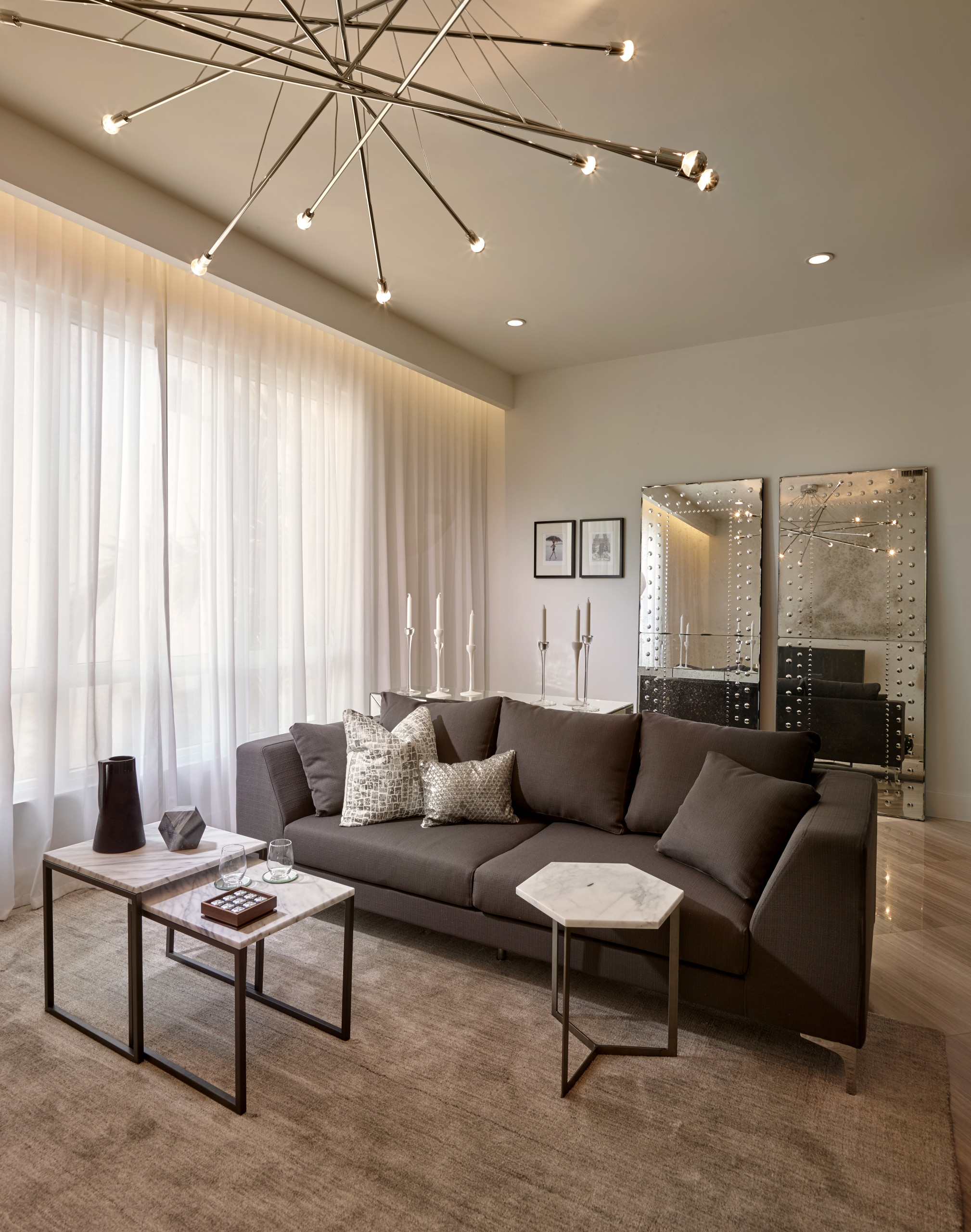 75 Beautiful Brown Marble Floor Living Room Pictures Ideas December 2020 Houzz