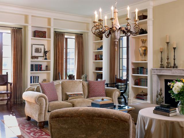 dordogne french chateau mediterranean living room dc. Black Bedroom Furniture Sets. Home Design Ideas