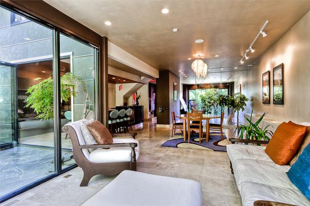 Dorian F Muncey Interiors eclectic-living-room