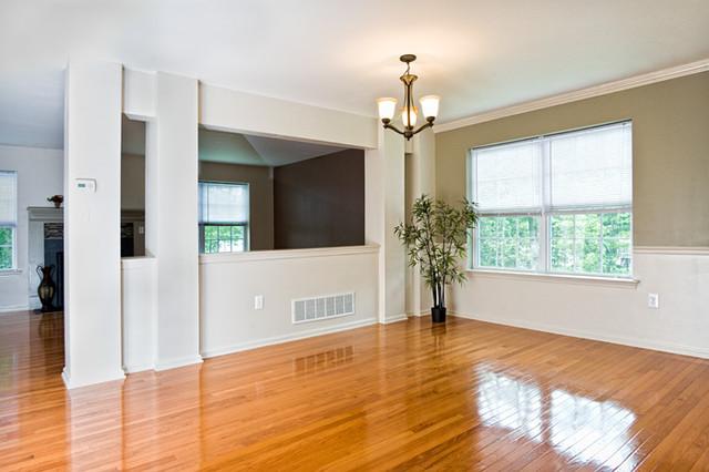 Dorset Drive, Bushkill PA contemporary-living-room