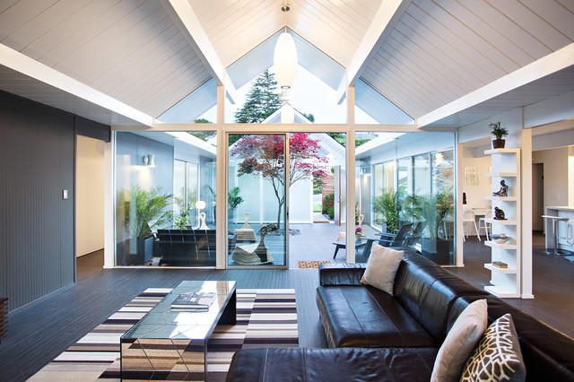Small Atrium | Houzz