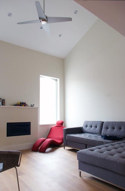 Double Height Living Room modern-living-room