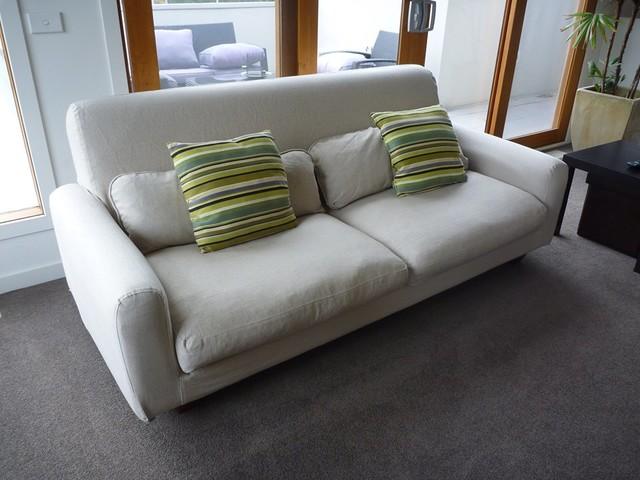 Double Nikkala Ikea Sofa Rejuvenation Contemporary Living Room