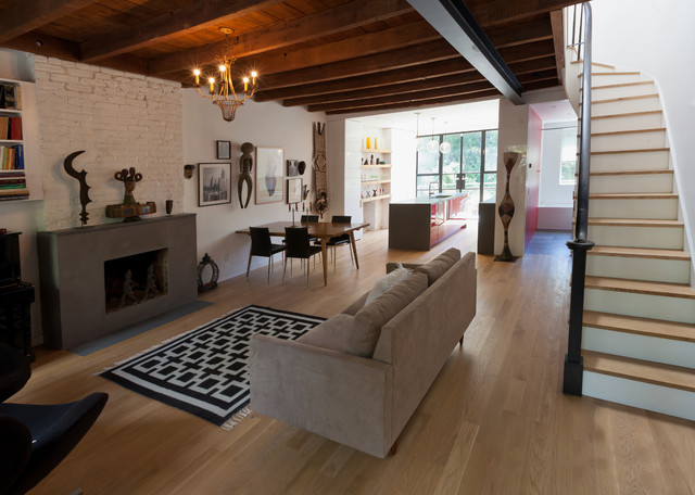 Douglass St Brooklyn Townhouse Contemporary Living