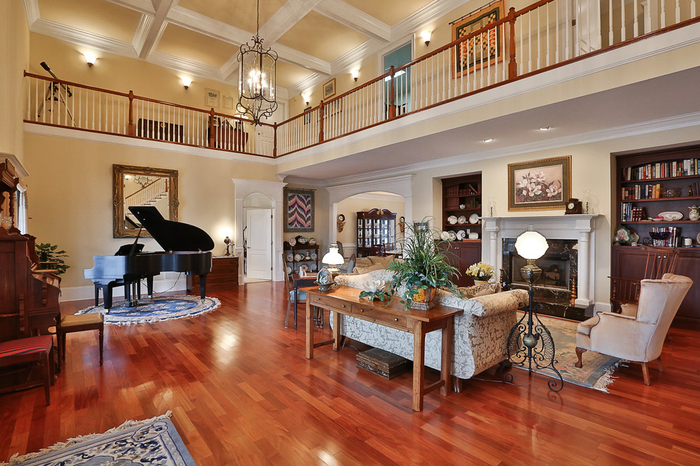 Douglasville Plantation Home Traditional Living Room Atlanta By Greg Love Homes