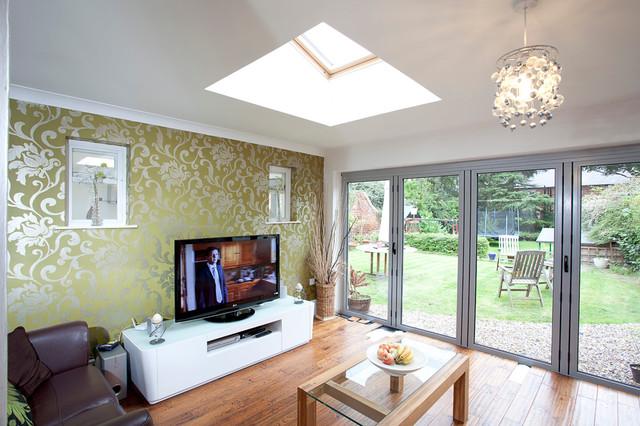 Dove lane development contemporary living room other for Modern design building services ltd