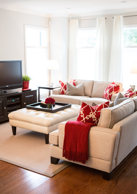 Downsizing and loving it! living-room