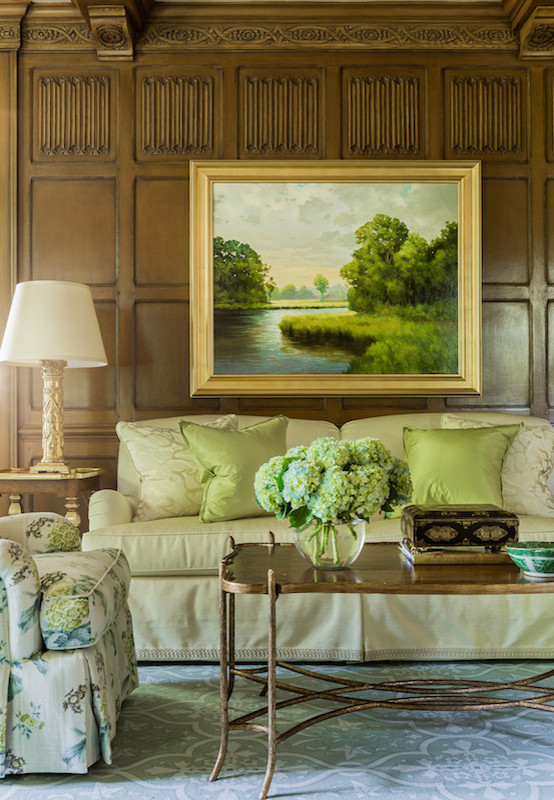Downton Abbey Drawing Room: Downton Abbey Style