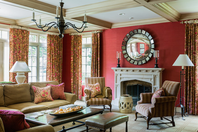 Downton Abbey Style Victorian Living Room Other By Hamilburg Interiors