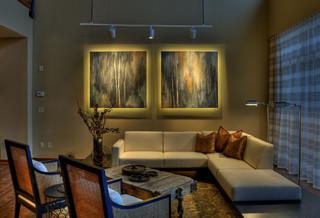 Downtown Condo contemporary-living-room